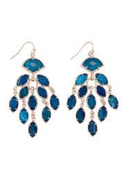 Gwen Blue Agate Earrings by Kendra Scott