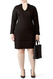 Black Long Sleeve Sheath by Alexia Admor