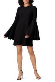 Dogma Flare Sleeve Mini Dress by ELLERY