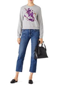 Embroidered Sweatshirt by Carven