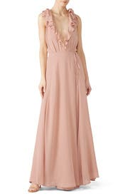 Blush Peppermint Dress by Reformation