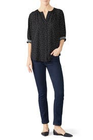 Valerie Button Down Top by B Collection by Bobeau