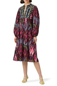 Multi Print Nora Dress by Figue