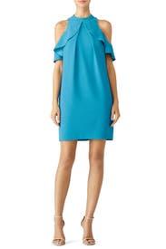 Blue Amado Dress by Trina Turk