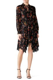 Floral Handkerchief Dress by Derek Lam 10 Crosby