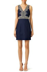 Navy Aveline Shift Dress by Lilly Pulitzer