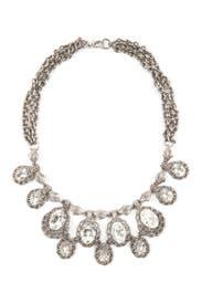 Antique Crystal Cherish Necklace by Ciner