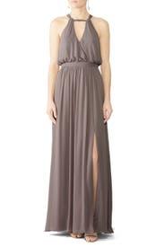 Stone Fleurette Gown by WATTERS