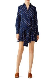 Midnight Tie Shirtdress by Derek Lam 10 Crosby
