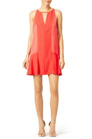 Red Ronan Dress by Parker