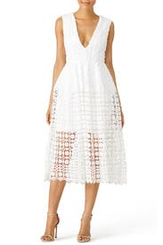 Tiered Lace Dress by Nicholas