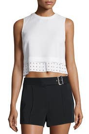 Henson Eyelet Top by A.L.C.