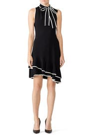 Black Liora Dress by Amanda Uprichard