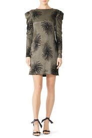 Tuck Shoulder Shift Dress by Victoria Victoria Beckham