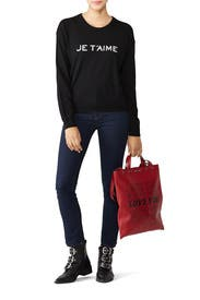 Je T'aime Sweater by Zadig & Voltaire
