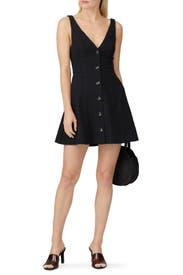 Black Salut Dress by Bec & Bridge