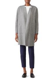 Grey Camden Coat by Charli