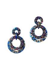 Night Streak Earrings by Lele Sadoughi