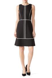 Paneled Crepe Dress by kate spade new york