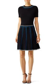 Blue Stitch Kiera Dress by Shoshanna