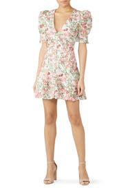 Le Foilles Mini Dress by Bec & Bridge
