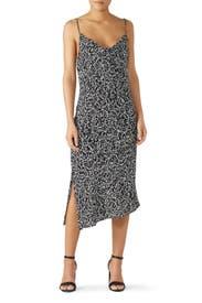 Cowl Neck Slip Dress by Fifteen Twenty