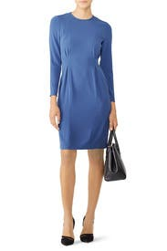 Pale Blue Jessica Dress by L.K. Bennett