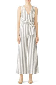 Striped Marley Jumpsuit by Rebecca Minkoff