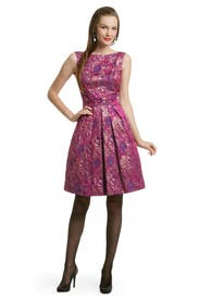 Mad For Fuschia Dress by Theia