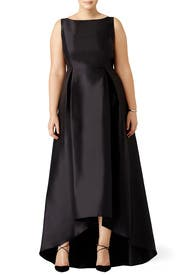 Black Arcadia Gown by Adrianna Papell