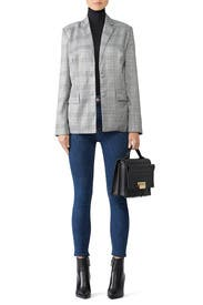 Plaid Portman Blazer by The Jetset Diaries