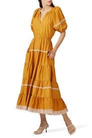 Claribel Dress by Ulla Johnson