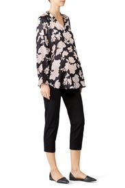 Woven Maternity Work Pants by Ingrid & Isabel