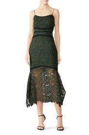 Ophelia Lace Midi Dress by STYLESTALKER