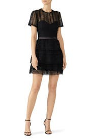 Ava Lace Dress by BARDOT