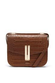 Cognac Croc Vancouver Bag by DeMellier London