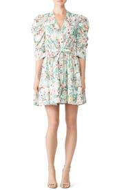 Floral Meritti Dress by Ronny Kobo