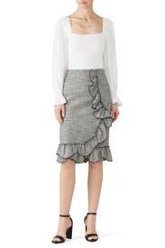 Silk Sleeve Merino Pullover by Rebecca Taylor