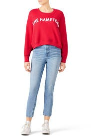 Caleigh B Sweatshirt by Joie