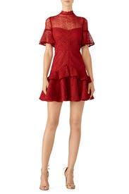 Red Mila Dress by AMUR