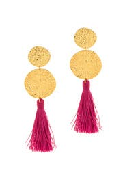 Phoenix Berry Tassel Earrings by Gorjana Accessories