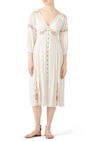 Day Glow Midi Dress by Free People