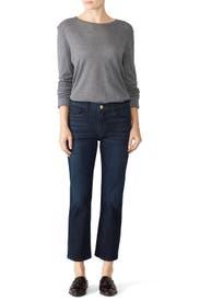 W2 Straight Crop Jeans by 3x1