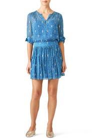 Blue Madrid Dress by ba&sh
