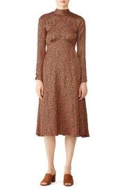 Loveless Printed Midi Dress by Free People