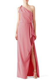 Peony Crepe Gown by HALSTON