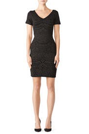 Lurex Raphael Dress by John + Jenn