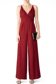 Wine Sloan Jumpsuit by Hutch