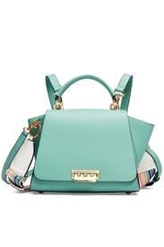 Green Eartha Top Handle Convertible Backpack by ZAC Zac Posen Handbags