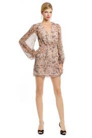 Liza Lurex Dress by ERIN erin fetherston